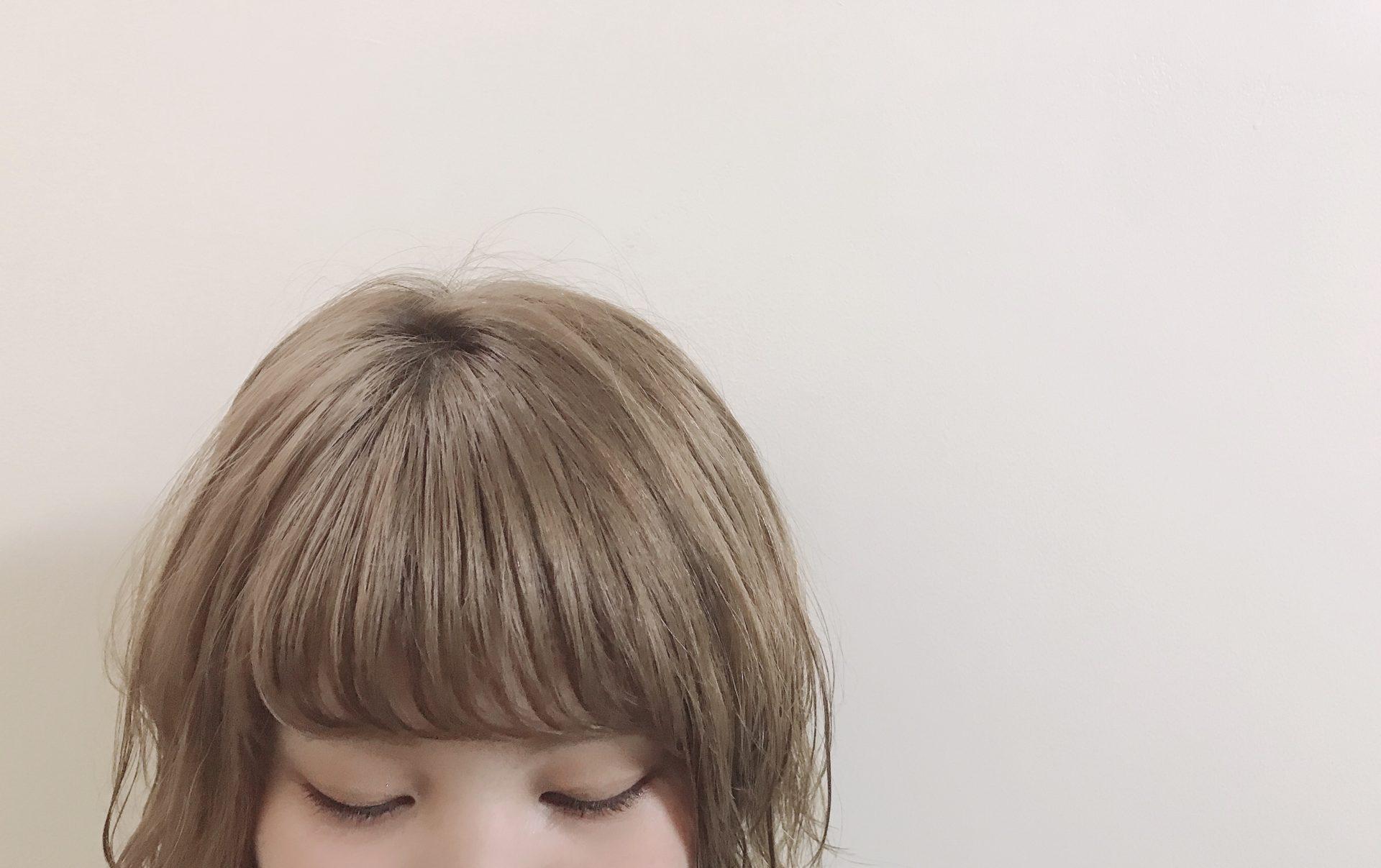 前髪で変化を!